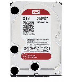 Disco Duro Western Digital Rojo 3TB Serial ATA III