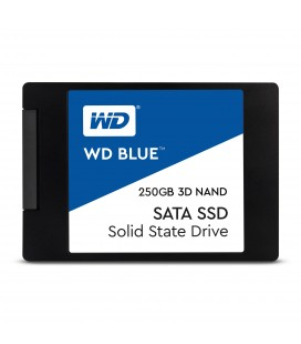 "SSD Wester Digital 250GB 2.5"" Serial ATA III Azul 3D NAND"