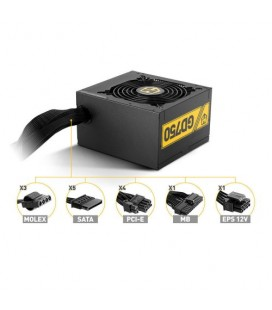 Fuente ATX 750W Nox Hummer 750 80Plus Gold