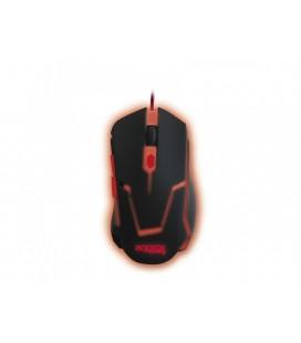 Approx appTWISTER2 USB 2400DPI mano derecha Negro ratón