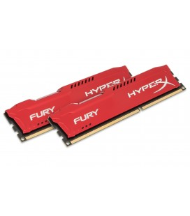 Memoria RAM Kingston Technology HyperX FURY Red 8GB 1866MHz DDR3