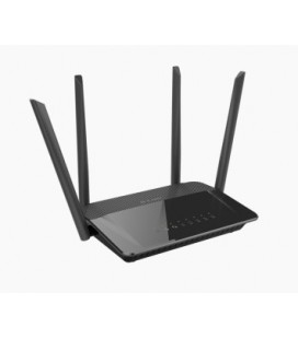 Router Wifi D-Link AC1200 Dual Band Doble banda (2,4 GHz / 5 GHz)
