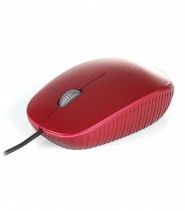 Ratón NGS Flame USB Óptico 1000DPI Rojo