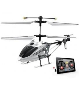 Helicóptero radio control iHelicopter Android iOS Plata