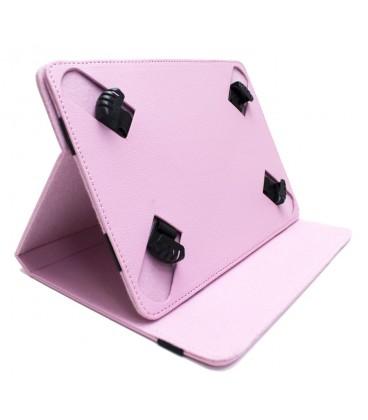 "Funda tablet cartera protect 10.1"" Biwond rosa"