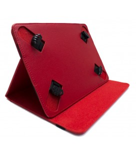 "Funda tablet cartera protect 9.7"" Biwond roja"