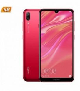 """Smartphone Huawei Y7 2019 - 6.26"""" - 32GB - 3GB RAM Red"""