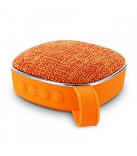 Altavoz con Bluetooth Muvit Life MLSSP0009/ 3W RMS/ 1.0/ Naranja
