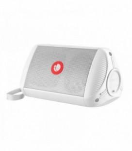 Altavoz Portátil con Bluetooth NGS Roller Ride/ 5W RMS/ 1.0/ Blanco