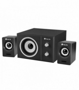Altavoces NGS Sugar 2.1 canales 20 W Negro