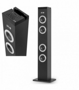 Altavoces Torre de Sonido con Bluetooth SPC BREEZE/ 10W RMS/ 2.0