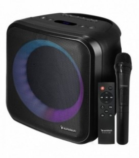 Altavoz con Bluetooth Sunstech MUSCLECUBE/ 20W RMS/ 1.0