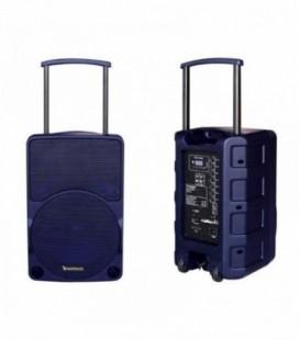 Altavoz con Bluetooth Sunstech MUSCLE PRO/ 40W RMS/ 1.0/ Azul