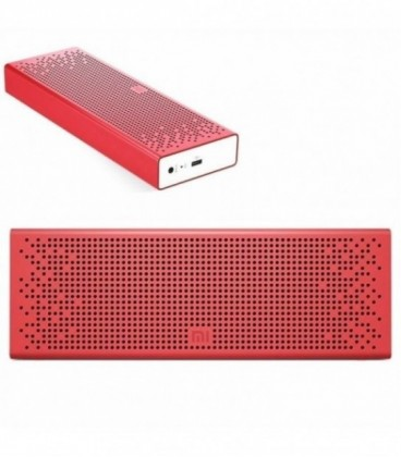 Altavoz con Bluetooth Xiaomi MI Speaker/ 6W RMS/ 2.0/ Rojo