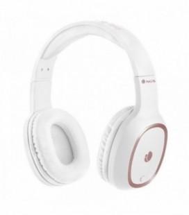 Auriculares Inalámbricos NGS Ártica Pride/ con Micrófono/ Bluetooth/ Blanco
