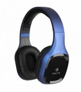 Auriculares Inalámbricos NGS Ártica Sloth/ con Micrófono/ Bluetooth/ Azul