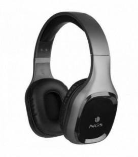 Auriculares Inalámbricos NGS Ártica Sloth/ con Micrófono/ Bluetooth/ Gris