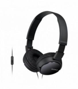 Auriculares Sony MDRZX110APB/ con Micrófono/ Jack 3.5/ Negros