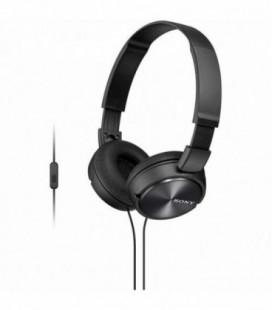 Auriculares Sony MDRZX310APB/ con Micrófono/ Jack 3.5/ Negro