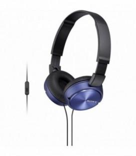 Auriculares Sony MDRZX310APL/ con Micrófono/ Jack 3.5/ Azules