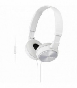 Auriculares Sony MDRZX310APW/ con Micrófono/ Jack 3.5/ Blancos