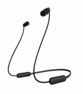 Auriculares Inalámbrico Intrauditivos Sony WIC200B.CE7/ con Micrófono/ Bluetooth/ Negro