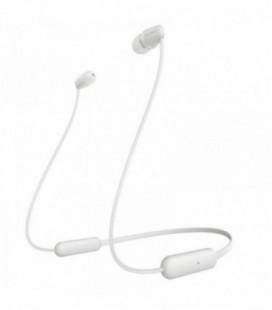 Auriculares Inalámbrico Intrauditivos Sony WIC200W.CE7/ con Micrófono/ Bluetooth/ Blanco