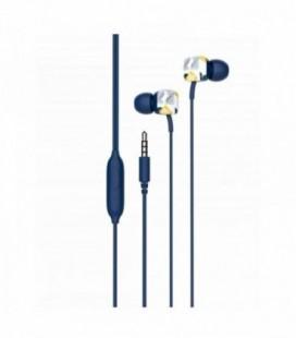 Auriculares Intrauditivos SPC Hype/ con Micrófono/ Jack 3.5/ Azul
