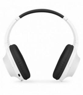 Auriculares Inalámbricos SPC Crow/ con Micrófono/ Bluetooth/ Blanco