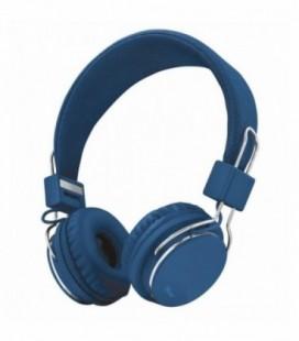 Auriculares Trust Urban Ziva 21823/ con Micrófono/ Jack 3.5/ Azul