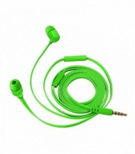 Auriculares Intrauditivos Trust Duga 22108/ con Micrófono/ Jack 3.5/ Verde Neón