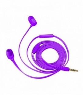 Auriculares Intrauditivos Trust Duga 22110/ con Micrófono/ Jack 3.5/ Púrpura Neón