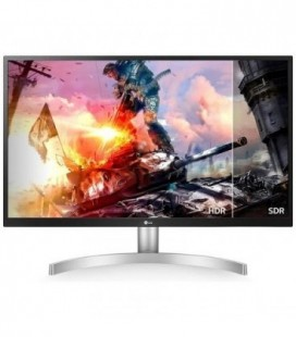 "Monitor Gaming LG 27UL500-W 27""/ 4K/ Plata"