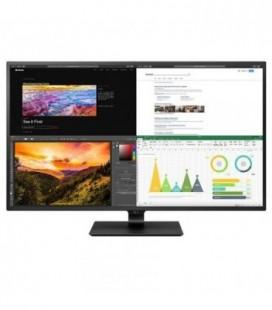 "Monitor Profesional LG 43UN700-B 42.5""/ 4K/ Multimedia/ Negro"