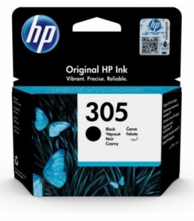 Cartucho tinta HP 305 Original negro