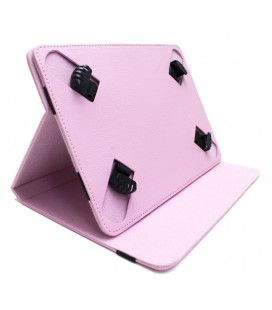 "Funda tablet cartera protect 9"" Biwond rosa"