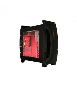 Caja PC NZXT Lexa Blackline Edición Roja