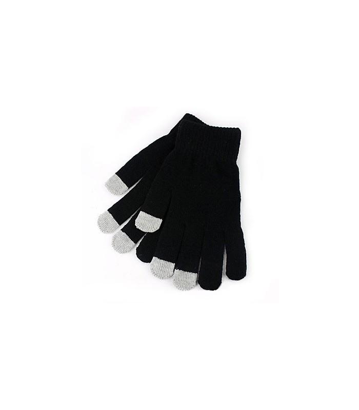 seleccione para el último suave y ligero grandes ofertas en moda Guantes Touch / Táctiles Unisex Negros