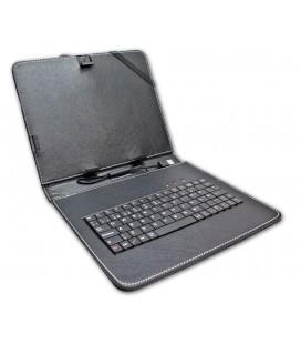 """Funda tablet con teclado 7"""" Negra"""