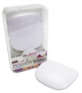 PowerBank 4400 mAh Blanco Biwond + Conectores