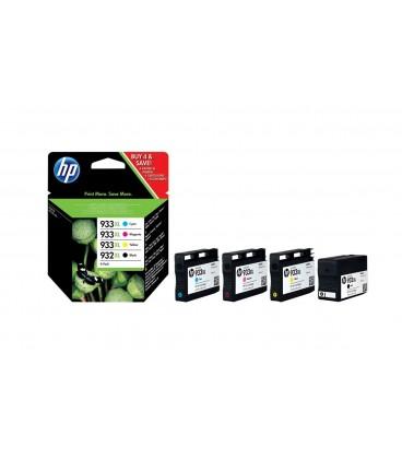 Pack cartuchos tinta HP 932XL/933XL