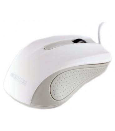 Ratón Approx appOMLITEWV2 USB Óptico 1000DPI Color blanco