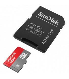 Tarjeta MicroSDHC SanDisk 16GB Clase 10 80MB/s