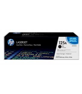 Pack ahorro con 2 Tóner Originales HP LaserJet 125A negro