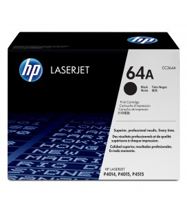 Tóner Original HP LaserJet 64A negro