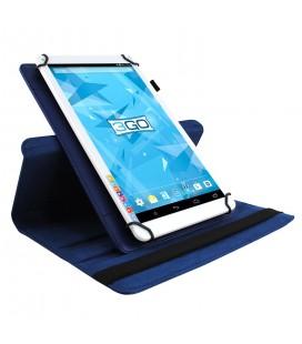 "Funda tablet 3GO CSGT con soporte rotatorio 10.1"" universal Azul"