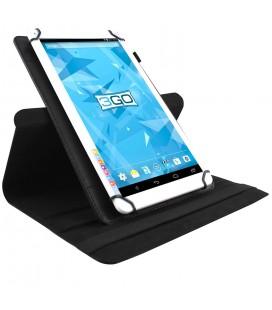 "Funda tablet 3GO CSGT con soporte rotatorio 10.1"" universal Negra"