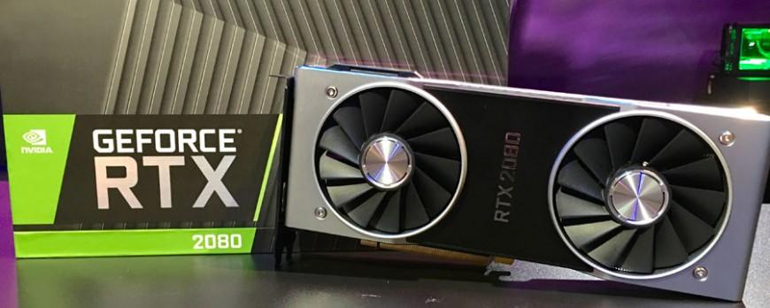 Las NVIDIA GeForce RTX 2080 pueden ser incluso el doble de potentes que las GTX 1080